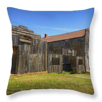 Old Ingalls Throw Pillow