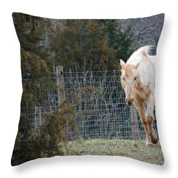Old Is Beautiful Throw Pillow