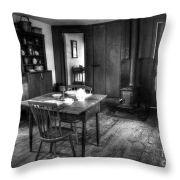 Old Kitchen Throw Pillow by Kathleen Struckle