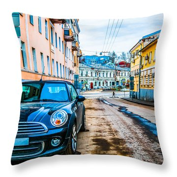 Old Lane Throw Pillow
