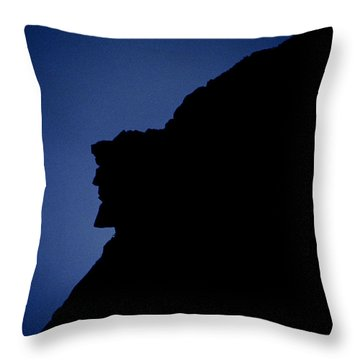 Old Man Of The Mountain - Franconia Notch State Park New Hampshire Throw Pillow