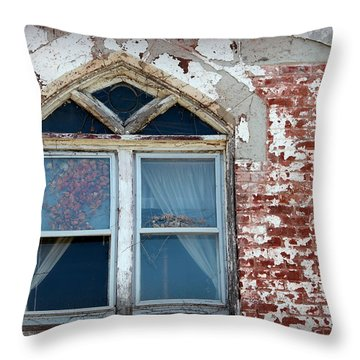 Old Market II Throw Pillow by Lynn Sprowl