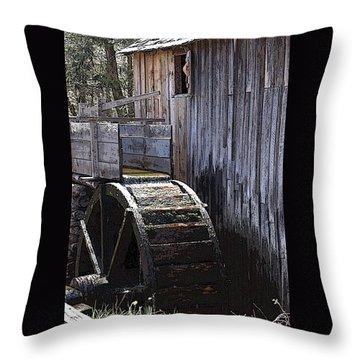 Old Mill Art01 Throw Pillow