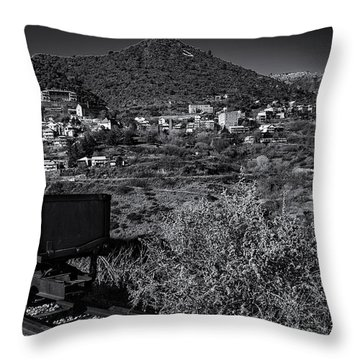 Old Mining Town No.23 Throw Pillow