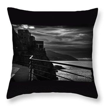 Old Monterosso Throw Pillow