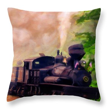 Old No. 5 Throw Pillow