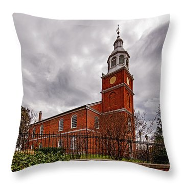 Old Otterbein Country Church Throw Pillow