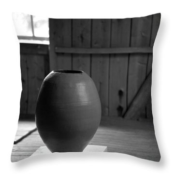 Old Pot   Throw Pillow by Tommytechno Sweden