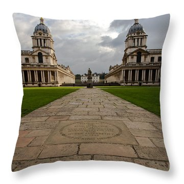 Old Royal Naval College Throw Pillow