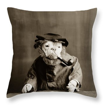 Funny Dog Throw Pillows