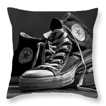 Old School Cool Throw Pillow by Brian Caldwell
