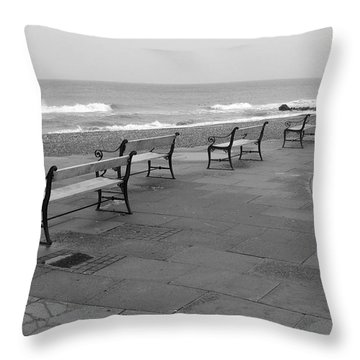 Throw Pillow featuring the photograph Old Skagen by Randi Grace Nilsberg
