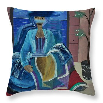 Old Soul Throw Pillow by Barbara St Jean