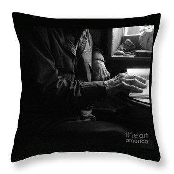 Old Testament Wisdom Throw Pillow by Joe Jake Pratt