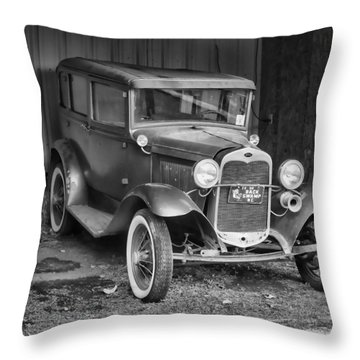 Old Timer Throw Pillow by Victor Montgomery