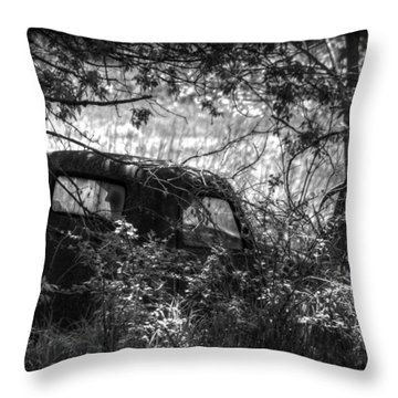 Old Times Good Times Throw Pillow