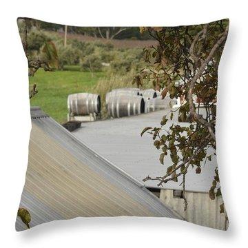 Old Tin Roof  Throw Pillow