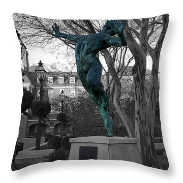 Old Town Alexandria - Brio 1 Throw Pillow by Richard Reeve