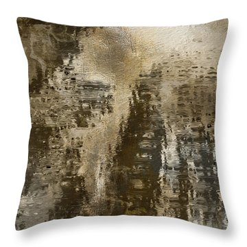 Old Town Throw Pillow by Jack Zulli