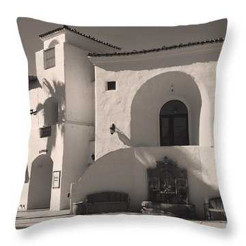 Old Town Throw Pillow by Laurie Search