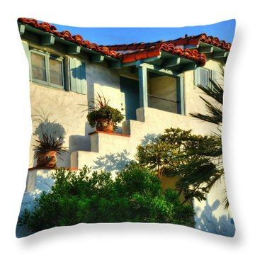Old Town San Diego Throw Pillows