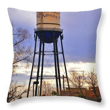 Old Towne Arvada Throw Pillow by David Pantuso