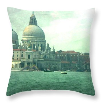 Throw Pillow featuring the photograph Old Venice by Brian Reaves