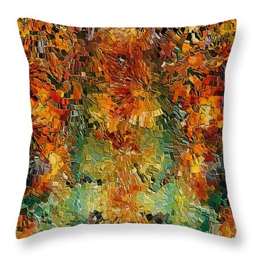 Old Wall By Rafi Talby Throw Pillow by Rafi Talby