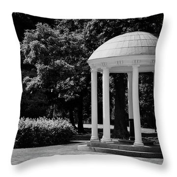Old Well At Unc Throw Pillow