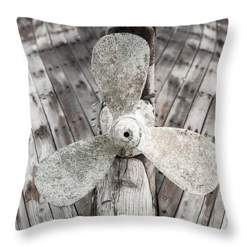 Propeller Throw Pillow