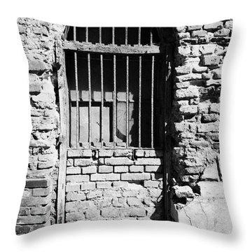 Old Jewish Area Throw Pillows