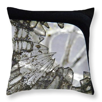 Old Wound Throw Pillow by Nick Kirby