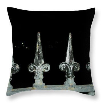 Throw Pillow featuring the photograph Olde Fence by Joseph Baril