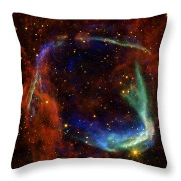 Oldest Recorded Supernova Throw Pillow by Adam Romanowicz