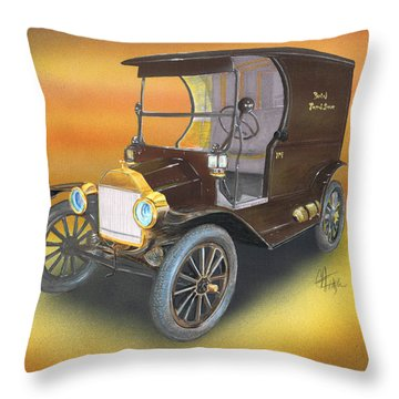 Ole' No 1 Throw Pillow
