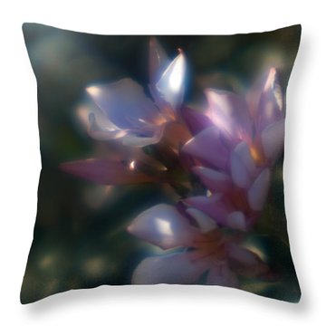 Oleander 2 Throw Pillow by Travis Burgess