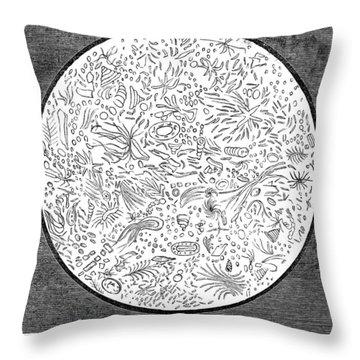 Oleomargarine, 1884 Throw Pillow