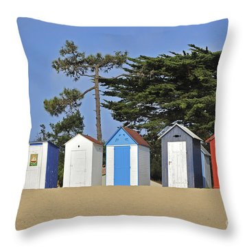 Throw Pillow featuring the photograph Oleron 6 by Arterra Picture Library