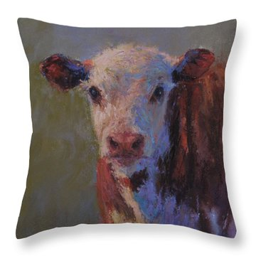 Olive Throw Pillow by Susan Williamson