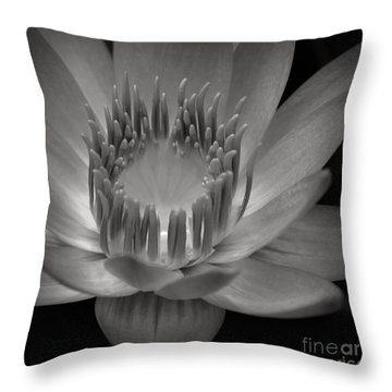Om Mani Padme Hum Hail To The Jewel In The Lotus Throw Pillow