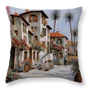 Ombre Al Pomeriggio Throw Pillow