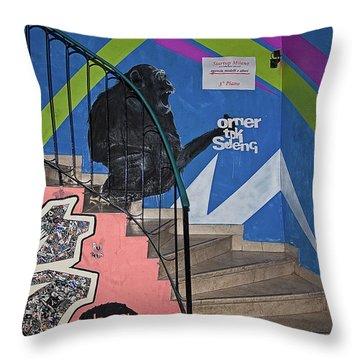 Omer Tdk Sdeng Throw Pillow