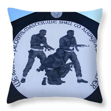 Ominous Throw Pillow by Nina Ficur Feenan