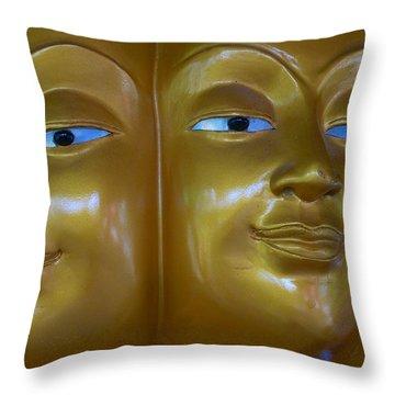 Omnivision Throw Pillow