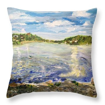 On A Clear Day I Can See Forever Throw Pillow