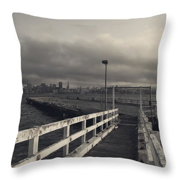 On And On Throw Pillow by Laurie Search