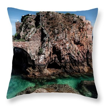 On Another Planet Throw Pillow by Edgar Laureano
