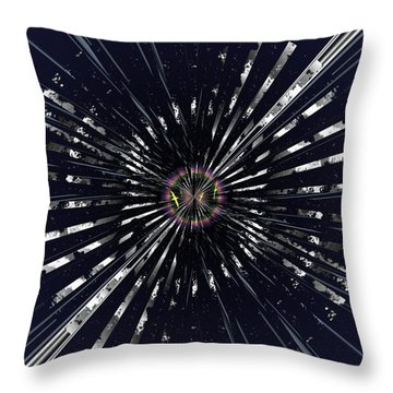On Beyond Anon Throw Pillow by Tim Allen