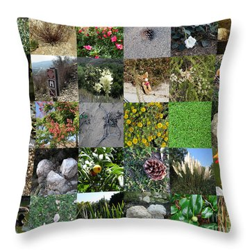 On Nature's Trail Throw Pillow by Bedros Awak