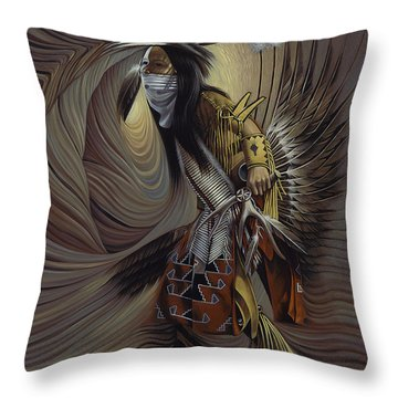 On Sacred Ground Series IIl Throw Pillow